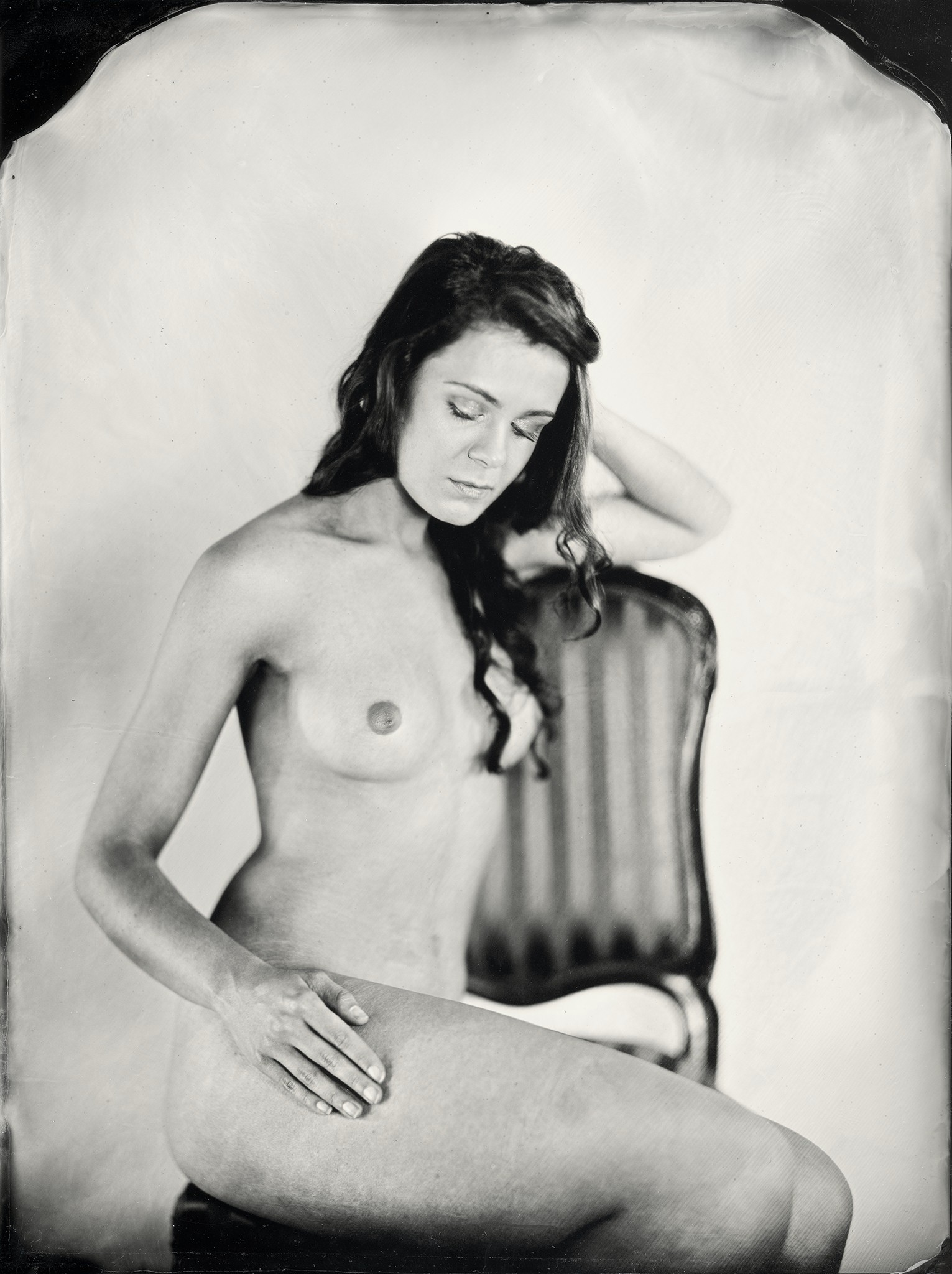 Mokry kolodion - Akt - Wet Plate Collodion Nude