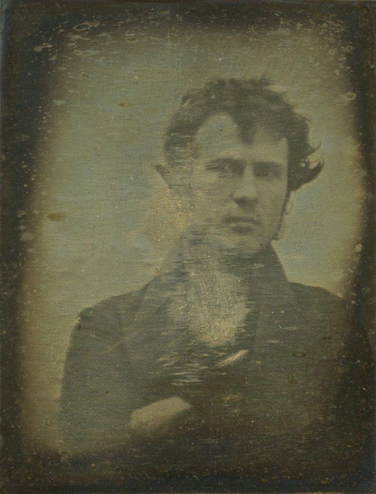Pierwsze selfie, 1839, Robert Cornelius