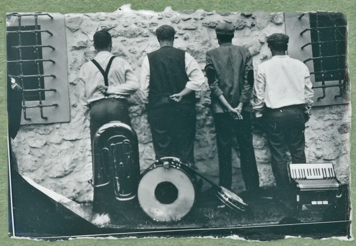 Hańba - Mokry kolodion - Sesja na debiut płytowy