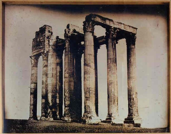 Świątynia Zeusa, 1842, Joseph Philibert Girault de Prangey