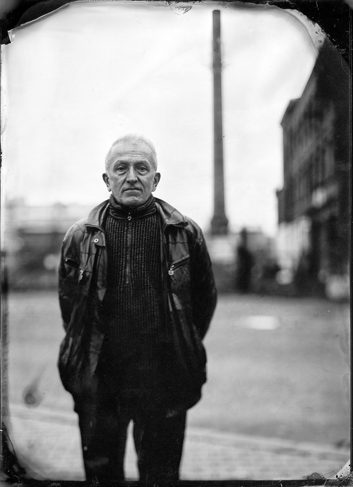 Portret Dolnego Śląska - Ambrotypia - Street Collodion Art