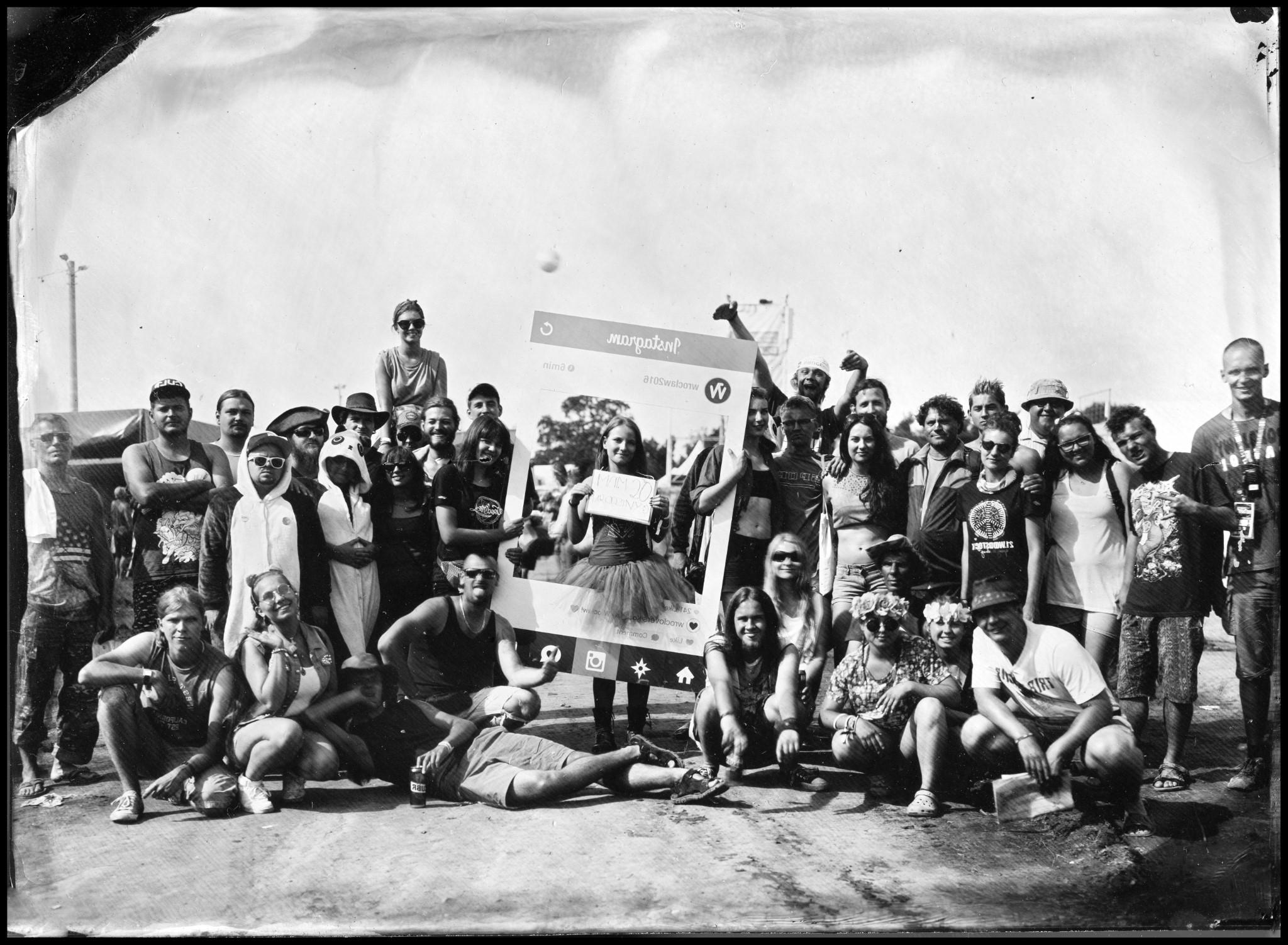 Przystanek Woodstock 2016 - Mokry Kolodion - Street Collodion Art (14)
