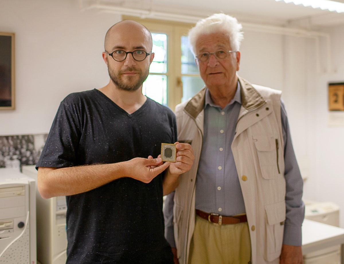 Michał Sitkiewicz i Reinhard Schielicke